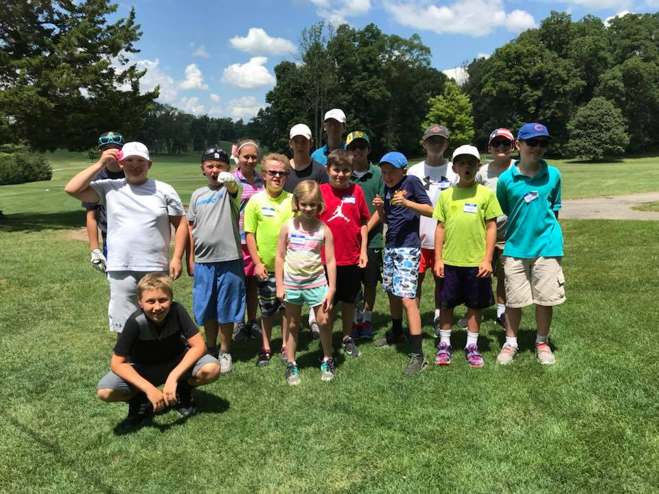 A junior camp at Manor Golf Club
